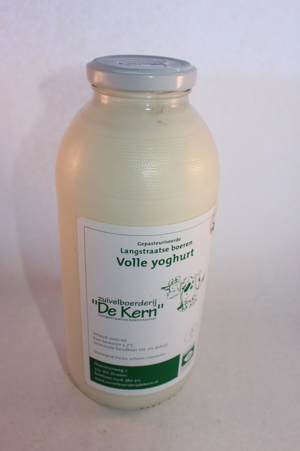 Yoghurt, volle (inclusief statiegeld)